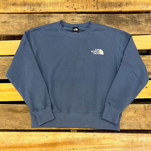 Women's The North Faces Parks Slightly Cropped Crew - Vintage Indigo