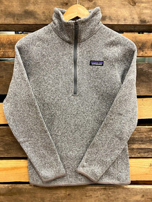 Patagonia Grey Women's Better Sweater 1/4 Zip