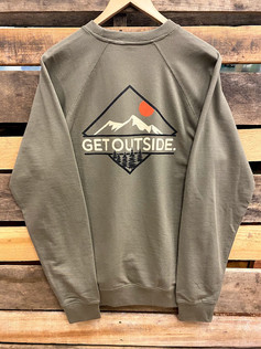 Get Outside Everest Unisex Crewneck