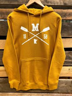Lakeside Unisex Minnesota Mustard Hoodie