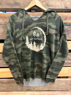 Get Outside Women's Camo Hoodie