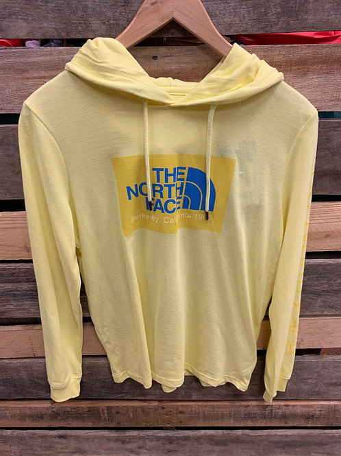 THE NORTH FACE WOMEN'S 66 CALIFORNIA TRI-BLEND PULLOVER HOODIE STINGER YELLOW