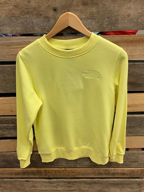 The North Women's Tonal Crew Sweatshirt Stinger Yellow