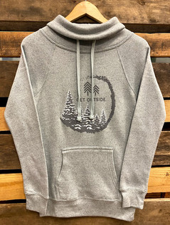 Get Outside Women's Frosty Tree Hoodie