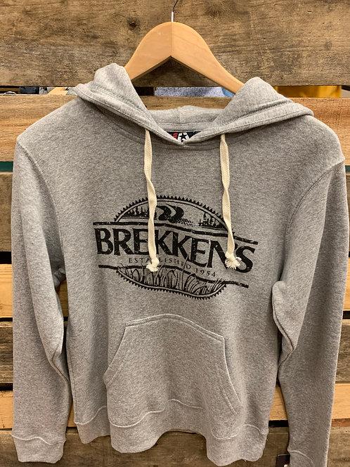 Brekkens Pullover Hoody Grey