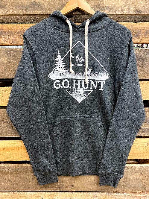 Get Outside G.O. Hunt Black Heather Unisex Hoodie
