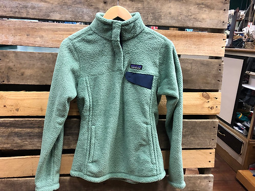 Patagonia Women's Re-Tool Snap-T Pullover Ellwood Green