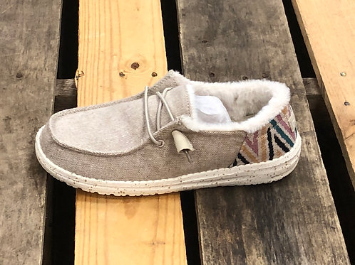 Hey Dude Women's Wendy Funk Wool Beige