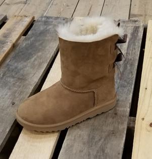 UGG® Kid's Bailey Bow II Boot Chesnut