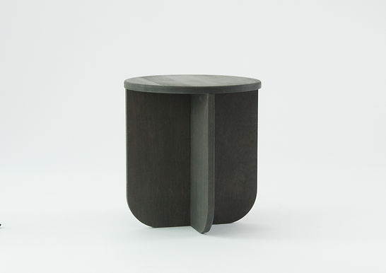 The black End Table