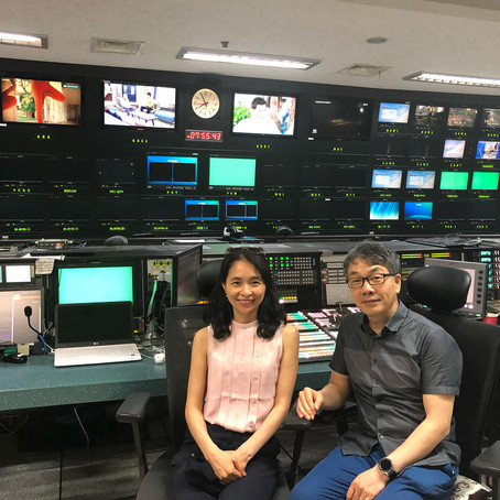 SACA visits KBS (Korean Broadcasting System) and discuss future collaboration with the TV team.