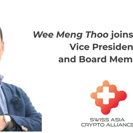 appointment of Wee Meng Thoo as Vice President and board member of SACA.