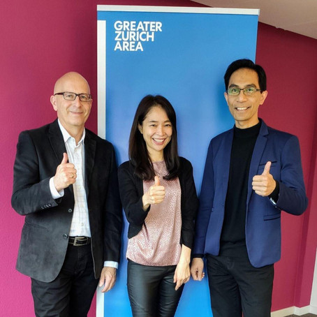 Partnering up with Greater Zurich Area