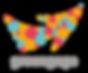 Greengage logo_new colours transparent b