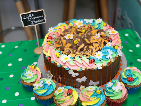 Precious Celebration Cakes from Little Diamond Baker