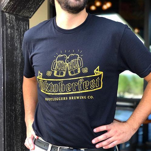 Bootleggers 2020 Oktoberfest Tshirt. Black