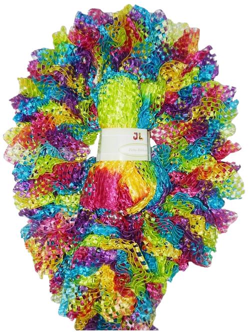 DELTA 100g Scarf Ruffle Ribbon Yarn 902