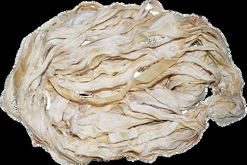 100g Sari SILK Ribbon Yarn Cream