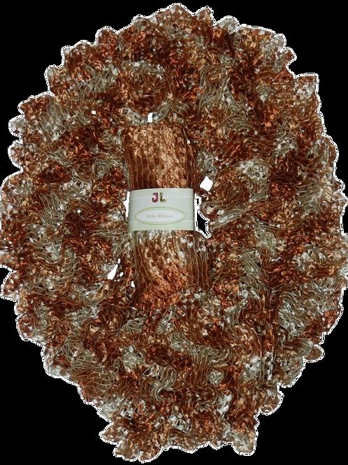 DELTA 100g Scarf Ruffle Ribbon Yarn 903