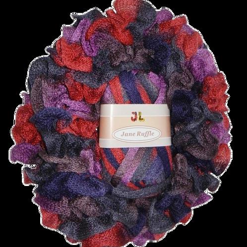 JANE Ruffle Frilly Mesh Net Style Yarn 409