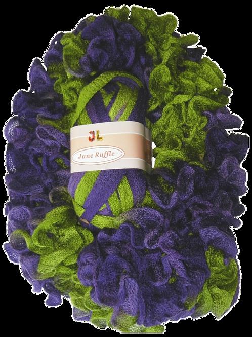 JANE Ruffle Frilly Mesh Net Style Yarn 407