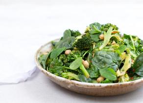 Char-grilled Broccoli & Chickpea Salad