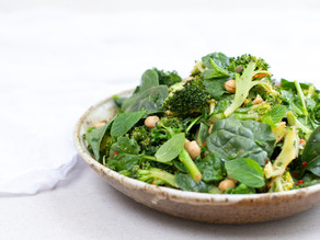 Char-grilled Broccoli & Chickpea Salad