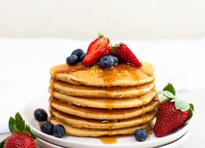 Fluffy Lemon Pancakes