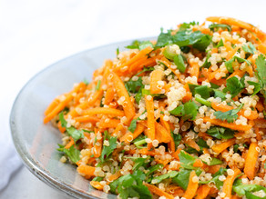 Carrot & Quinoa Salad