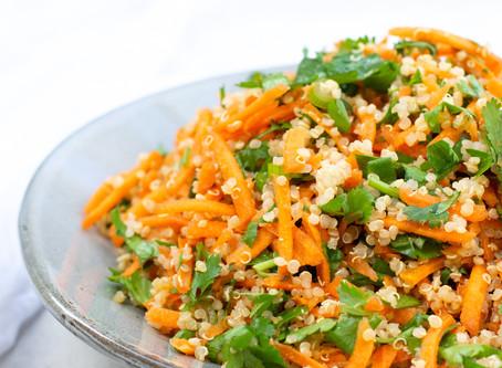 Carrot & Quinoa Salad