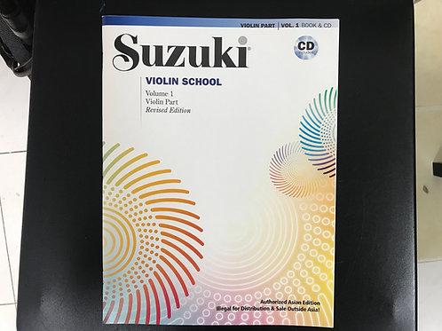 Suzuki Violin School Volume 1 鈴木小提琴教本 國際版 連 CD
