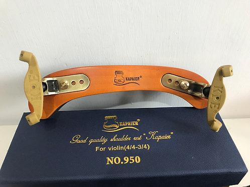 KAPAIER No. 950 歐洲楓木材料U型共鳴小提琴肩墊/肩托