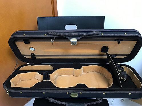 內地製高檔次小提琴盒 (黑)