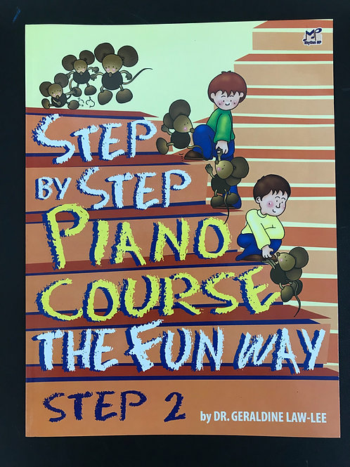Step by Step Piano Course The Fun Way Book 1 , 2 , 3