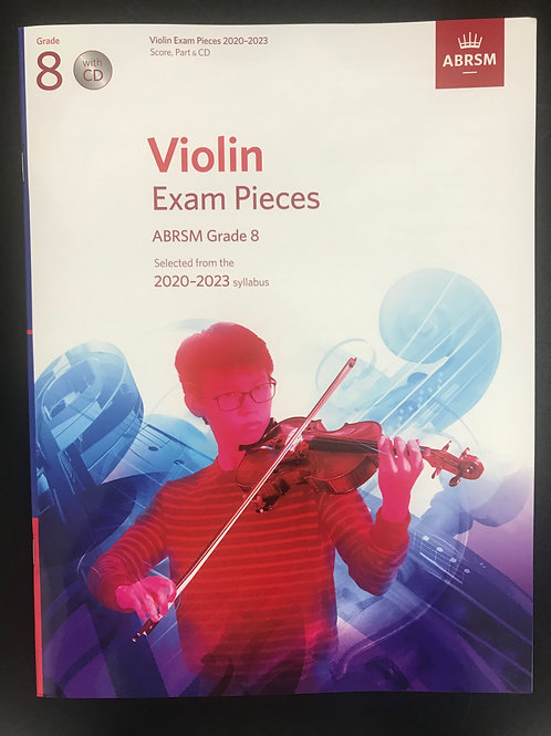 ABRSM 2020-2023 小提琴考試歌書 Exam Pieces