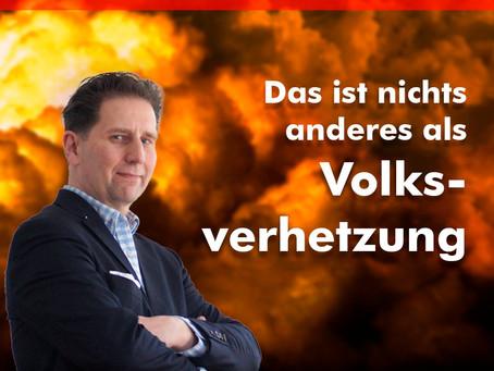 Hochrangige Grüne wünscht sich den Tod der Deutschen - Das ist nichts anderes als Volksverhetzung