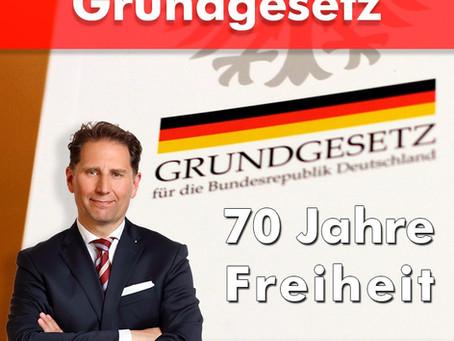 70 Jahre Grundgesetz - 70 Jahre Freiheit