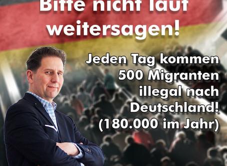 Bitte diese Information nicht laut weitergeben. Die deutschen Medien machen es vor ...