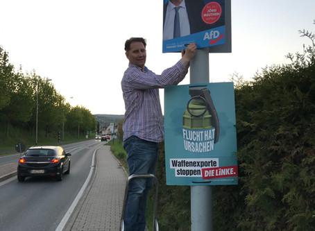 Der Rheingau ist wieder blau - Mut zur Freiheit bei der EU-Wahl