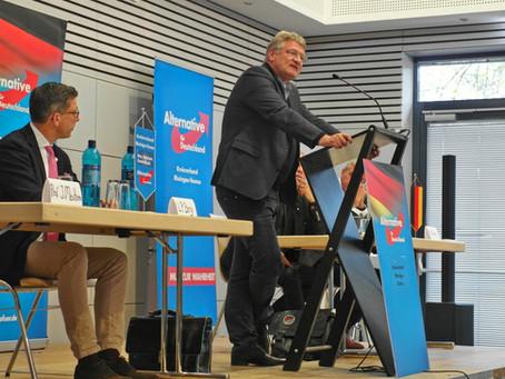 Erfolgreiche EU-Wahlkampfveranstaltung mit Prof. Meuthen in Hünstetten