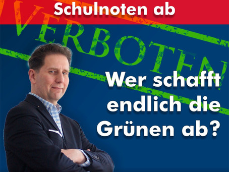 Hessen schafft Schulnoten ab - CDU vergeht sich für den Machterhalt an unserer Jugend