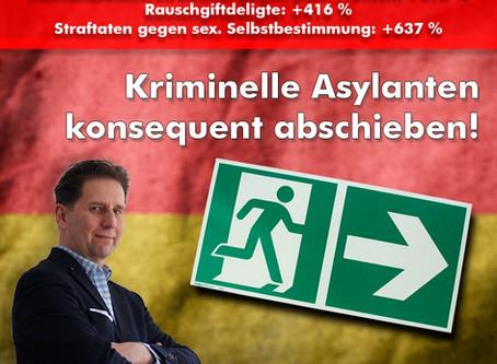BKA: Flüchtlingskriminalität seit Merkels Offene-Grenzen-Politik um 258% gestiegen