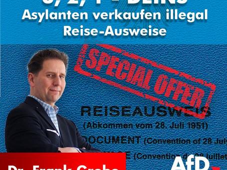 3, 2, 1 Deins: Migranten verkaufen über Ebay illegal Reise-Ausweise