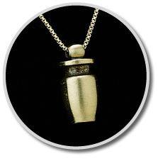 Brass Urn Pendant