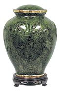 Hunter Green Keepsake Urn