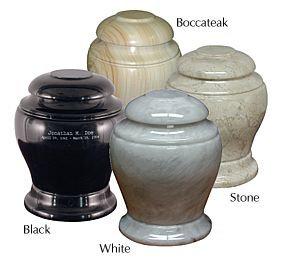 Imperial Marble Keepsake Urn