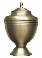 Classic Gold Chalice Urn