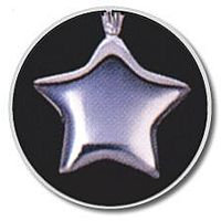 Small Sterling Silver Star Pendant