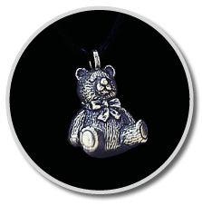 Pewter Teddy Bear Pendant