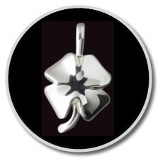 Sterling Silver 4-Leaf Clover Pendant